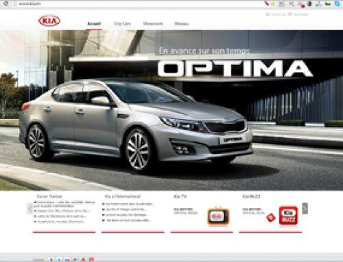 Site web KIA